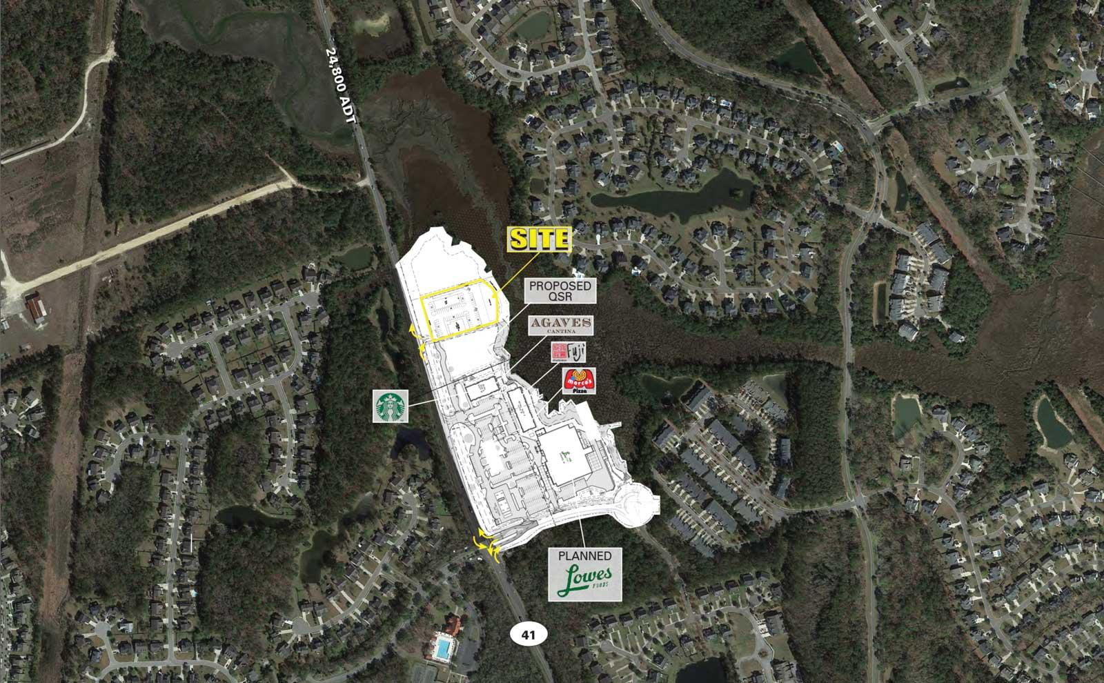 Mt. Pleasant Real Estate Development at Mill Creek